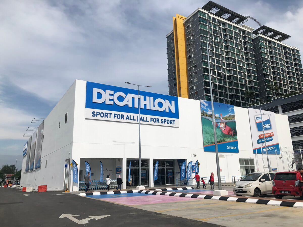 Cooling Load Factor 75 VS 38 di Decathlon Shah Alam