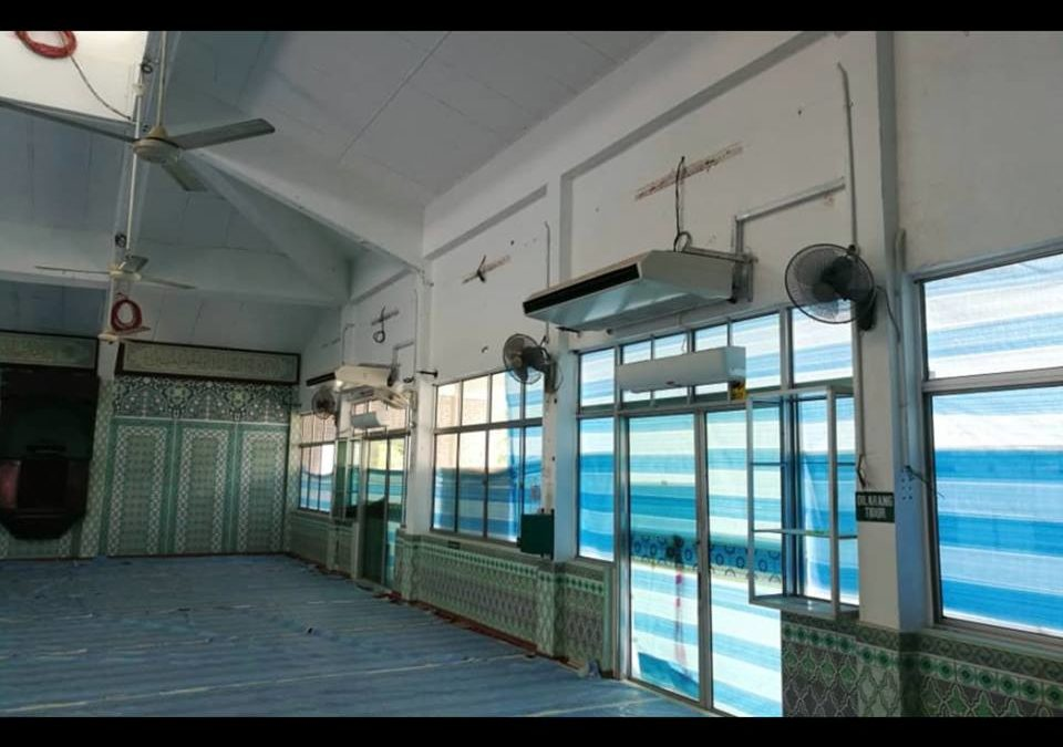 Mitos Air Conditioner Masjid